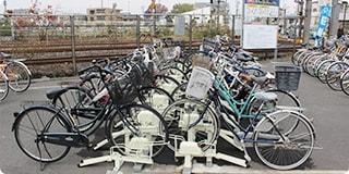サイクルポート(自転車駐輪場)目安期間:2年~<